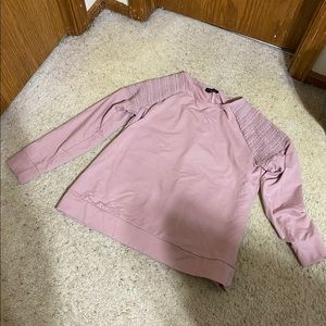 Pink/mauve Lane Bryant Sweatshirt.